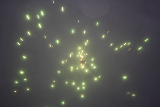 2013 Fireworks in the Fog