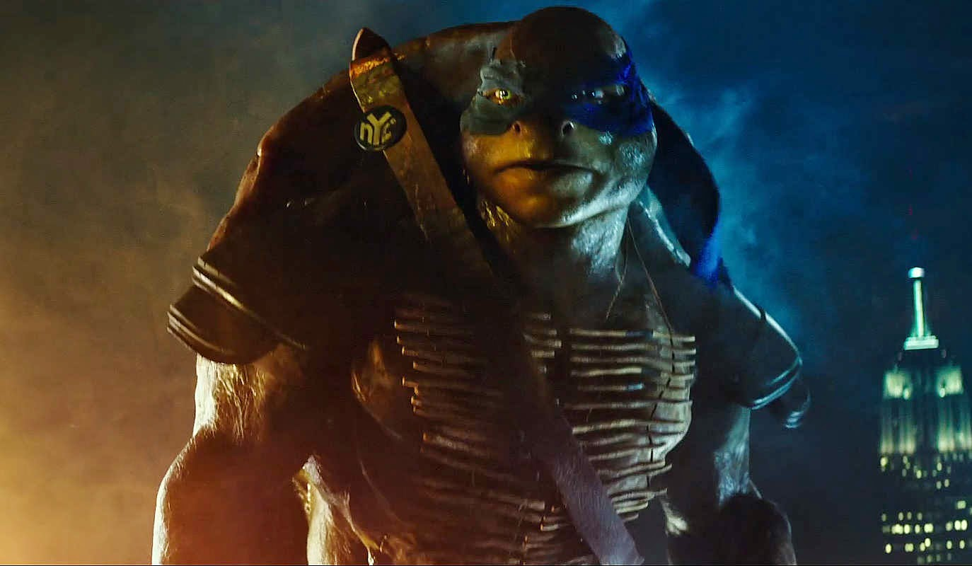 Teenage Mutant Ninja Turtles Johnny Knoxville Leonardo pics