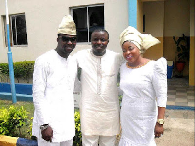 soji omobanke and wife