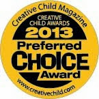 Creative Child Magazine Preferred Choice Award