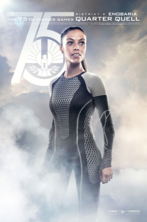 Enobaria Catching Fire Movie Poster