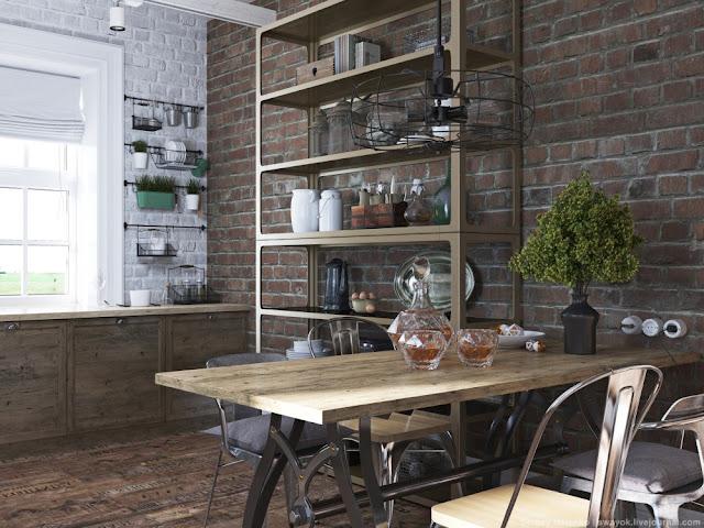 Projects una cocina industrial campestre virlova style for Cocina industrial en casa