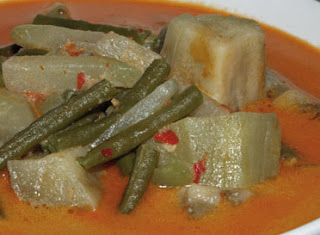 Spicy Mixed Vegetables in Coconut Milk Sayur Lodeh