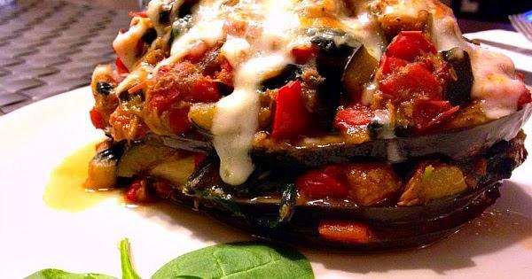 Falsa musaka o moussaka de at n con verduras receta baja - Calorias boquerones en vinagre ...