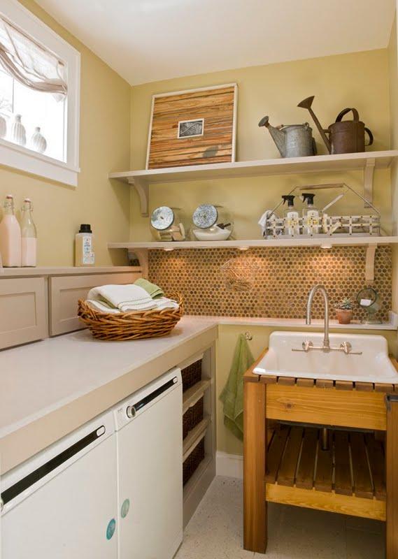 construindo minha casa clean lavanderias lindas modernas decoradas ou rom nticas. Black Bedroom Furniture Sets. Home Design Ideas