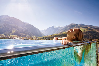 Relaxing in Tauern Spa