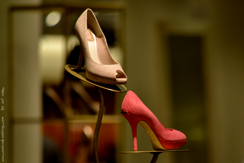 Christian Miss Dior Peep Toe Pump Shoes Sable Coral Women Cruise 2012 Collection Designer Fashion Women