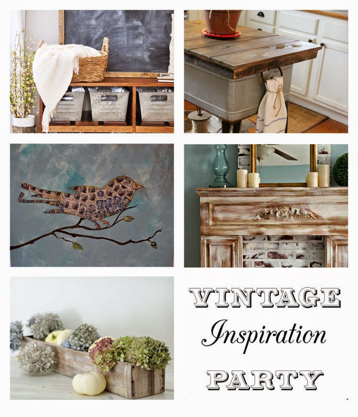 Vintage Inspiration Party My Salvaged Treasures Party Features