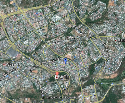 Abuja map google
