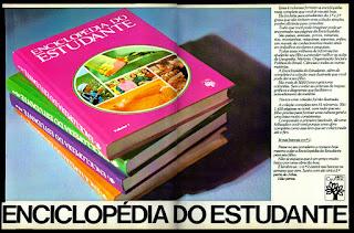 Enciclopédia do Estudante; editora Abril anos 70; década de 70. os anos 70; propaganda na década de 70; Brazil in the 70s, história anos 70; Oswaldo Hernandez;