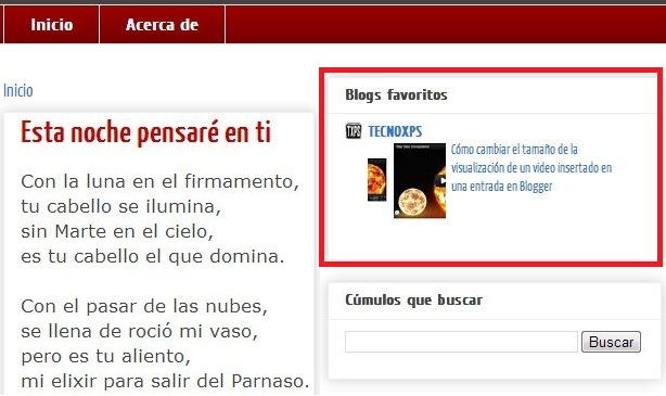 """Colocar el atributo rel=""""nofollow"""" a los enlaces de tu blogroll o lista de blogs en Blogger"""