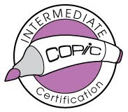 proud to be intermediate certified!