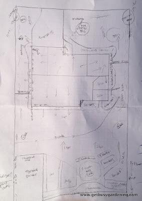 Rain garden planning map
