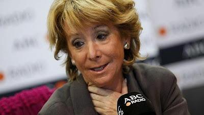 Esperanza Aguirre pide pactos con PSOE y Ciudadanos en Madrid