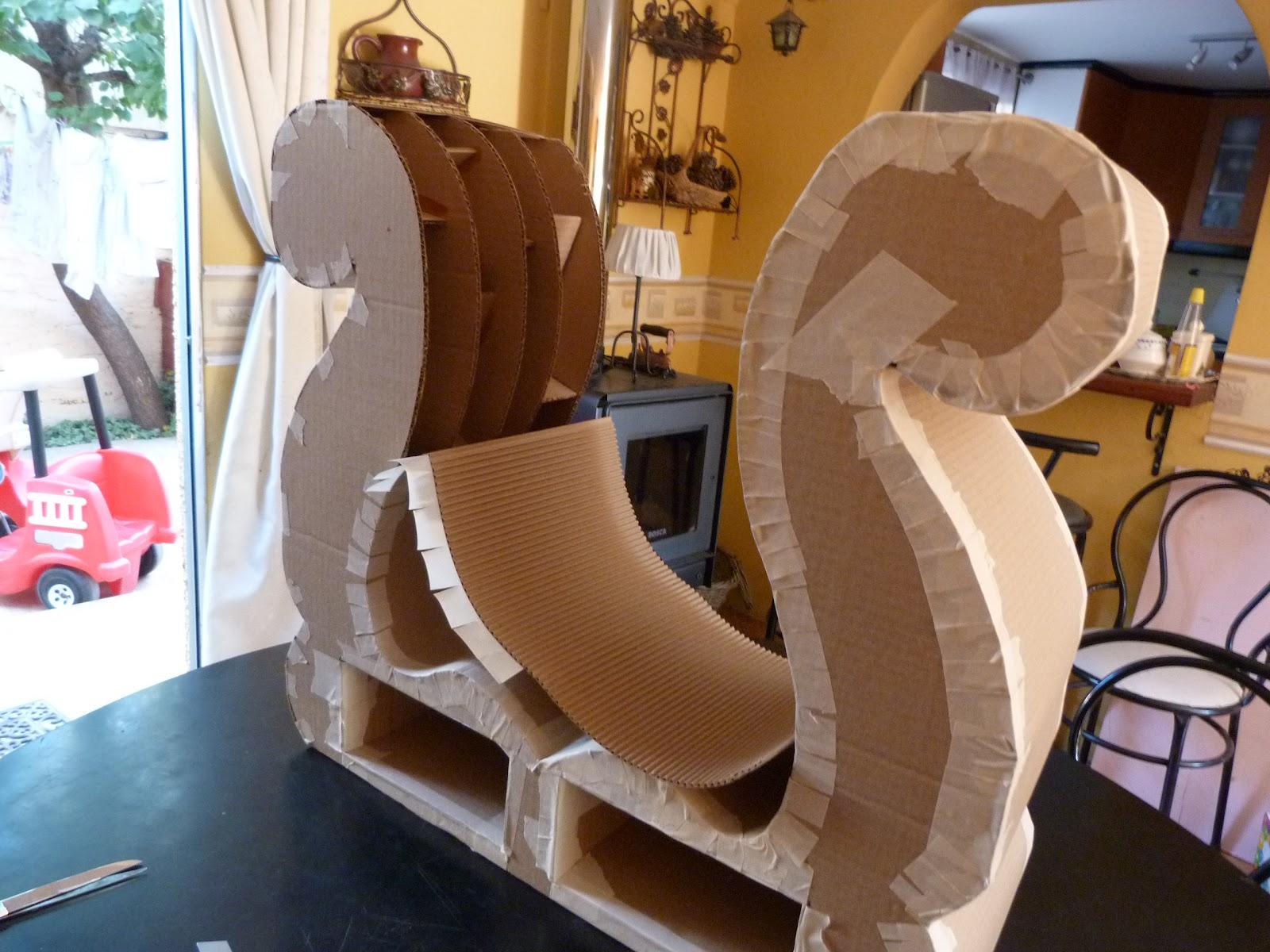 Las creaciones de do a castora muebles de cart n tocador - Muebles el castor ...