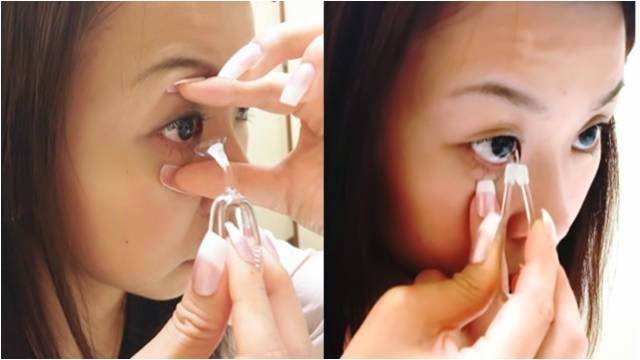 """Meruru"" Removes Contact Lenses without using Fingers"