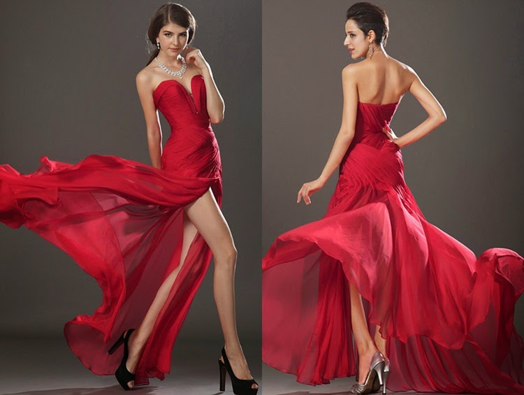 Lady In Red - Evening Dresses
