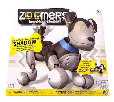 TOYS : JUGUETES - ZOOMER 2.0 - Shadow Perro Robot | Mascota Electrónica Interactiva Producto Oficial | Bizak - Spin Master | A partir de 5 años Comprar en Amazon España & buy Amazon USA