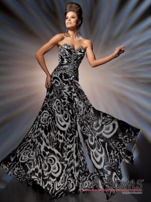 Colección Vestidos Negros de Fiesta 2013