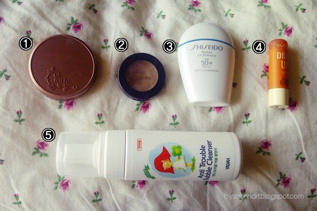 yadah bubble cleanser anti trouble tarte exposed shiseido sunscreen lip balm silkygirl malaysia beauty blogger