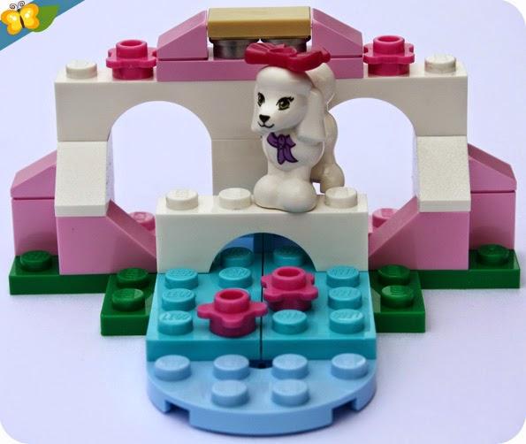 LEGO® Friends Animaux - Série 2 - Le caniche et son petit palais
