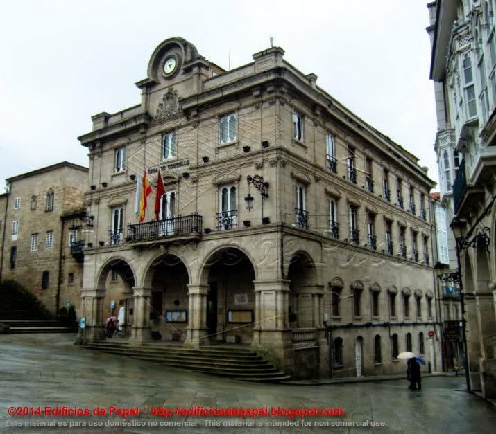 Ayuntamiento de Ourense Arquitecto Queralt 1888