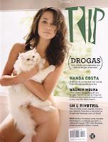 Confira as fotos da protagonista da novela Salve Jorge, Nanda Costa, (fernanda costa) capa da revista Trip de abril de 2010!