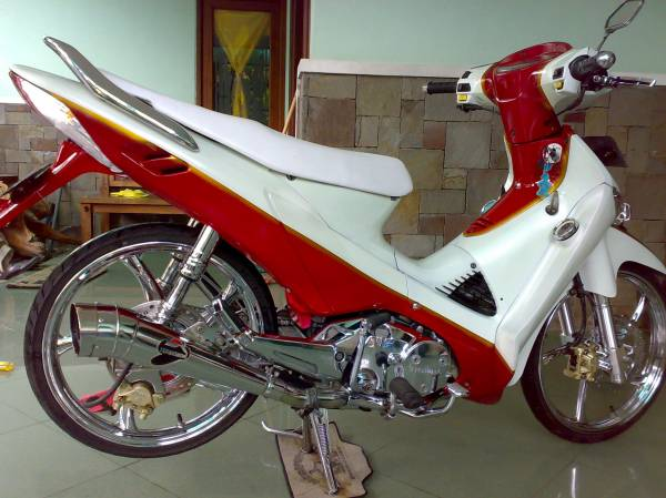 Modifikasi Supra X 125 title=