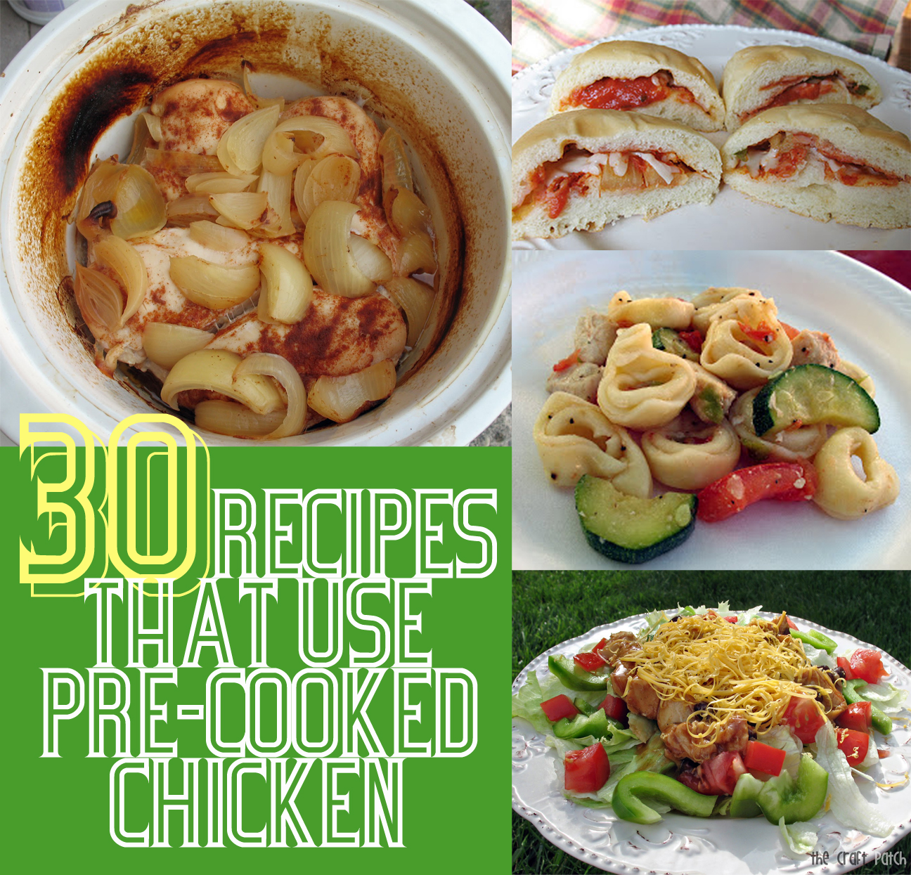 Recipes using cooked chicken
