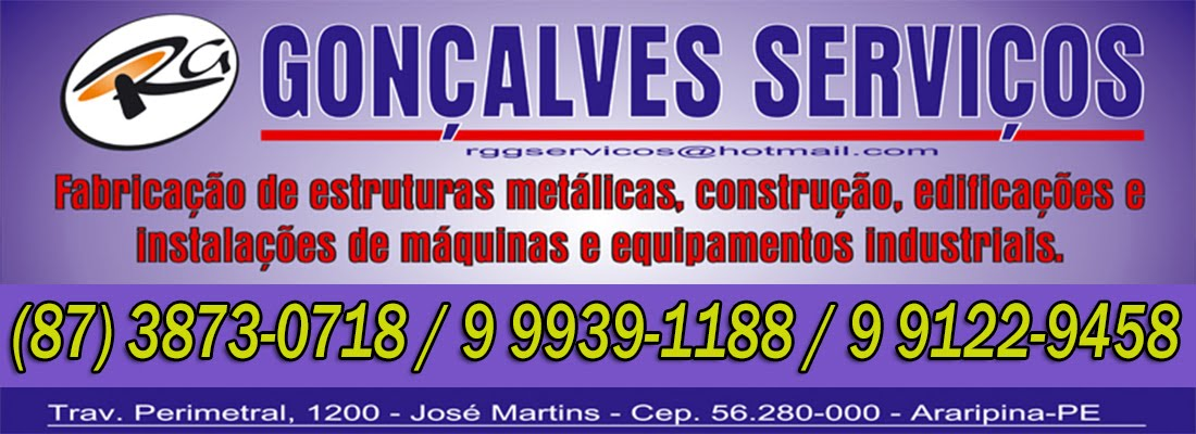 RG GONÇALVES SERVIÇOS
