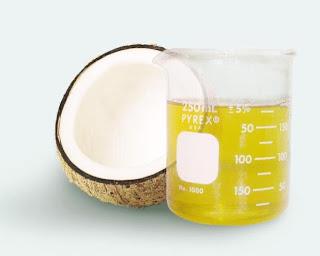 Óleo de coco emagrece