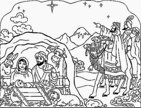 Nativity coloring sheet free coloring sheet for Nativity scene coloring pages printable