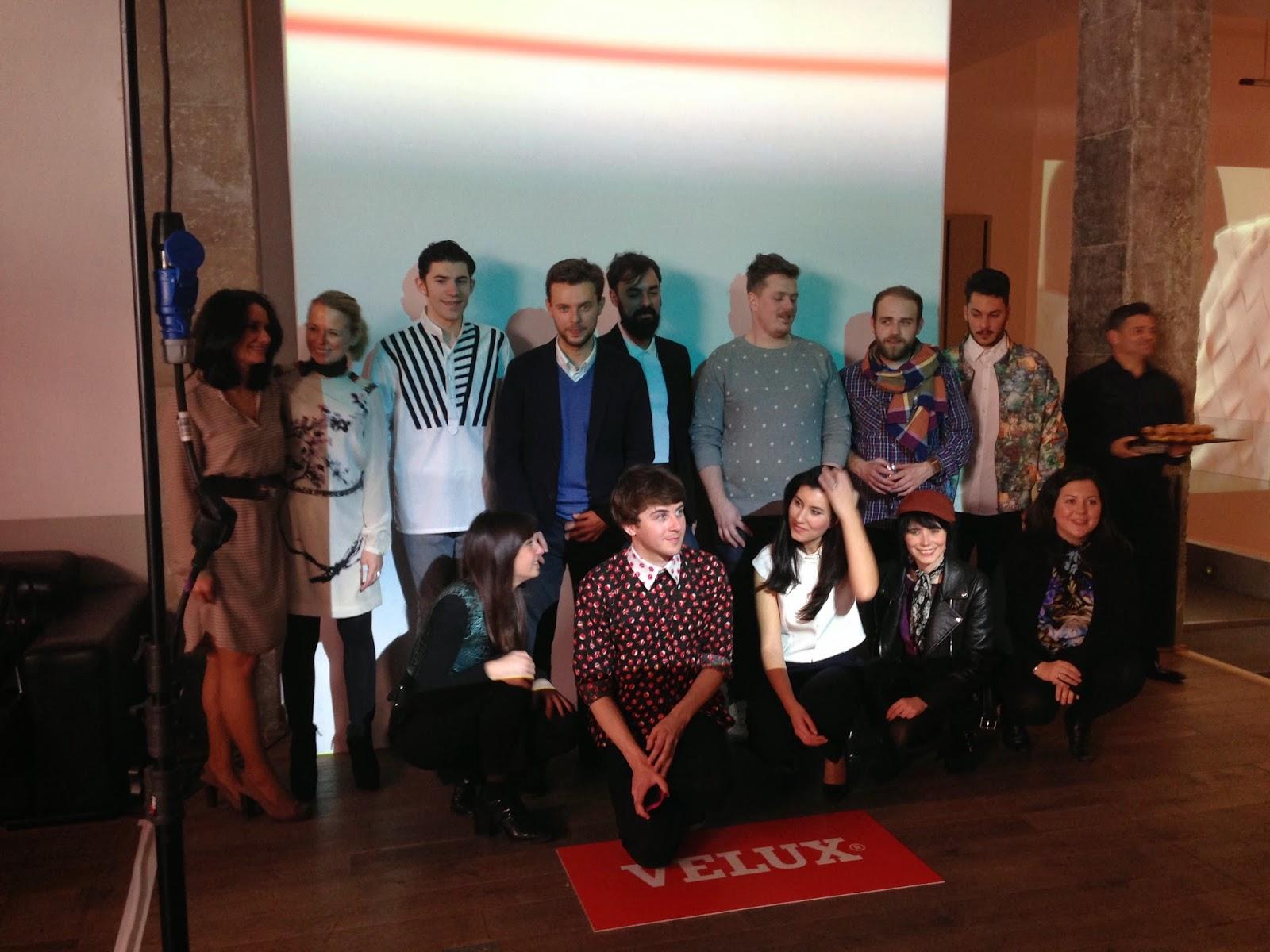 Todos los participantes de a luz se viste de moda con Velux