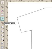 ... langkahnya cara membuat desain kaos ala distro menggunakan corel draw