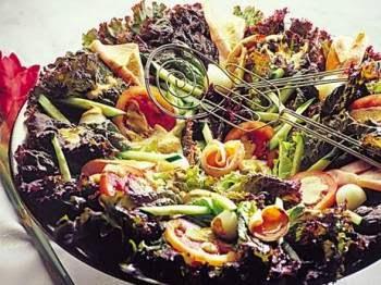 Salada para o dia das mães