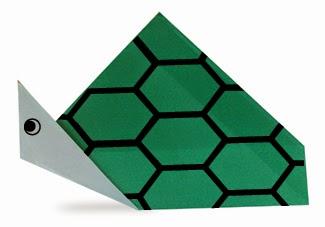 Hướng dẫn cách gấp con Rùa bằng giấy đơn giản - Xếp hình Origami với Video clip