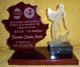 XIII Regional FOEX Villanueva de la Serena 2.014