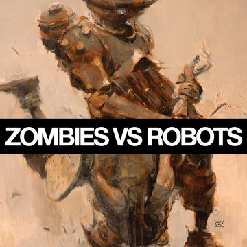 ZOMBIES VS.ROBOTS