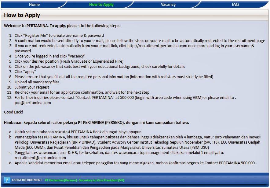 loker-bumn-pertamina-jakarta-terbaru-april-2014