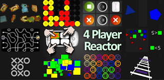 Android Game 4 Player Reactor