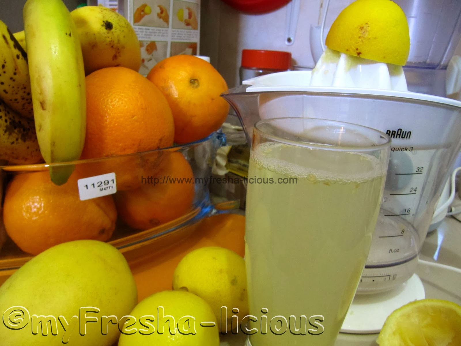 myFresha-licious: Lemon and Apple Cider Vinegar Juice