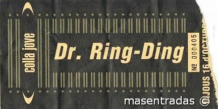 entrada de concierto de dr.ring-ding