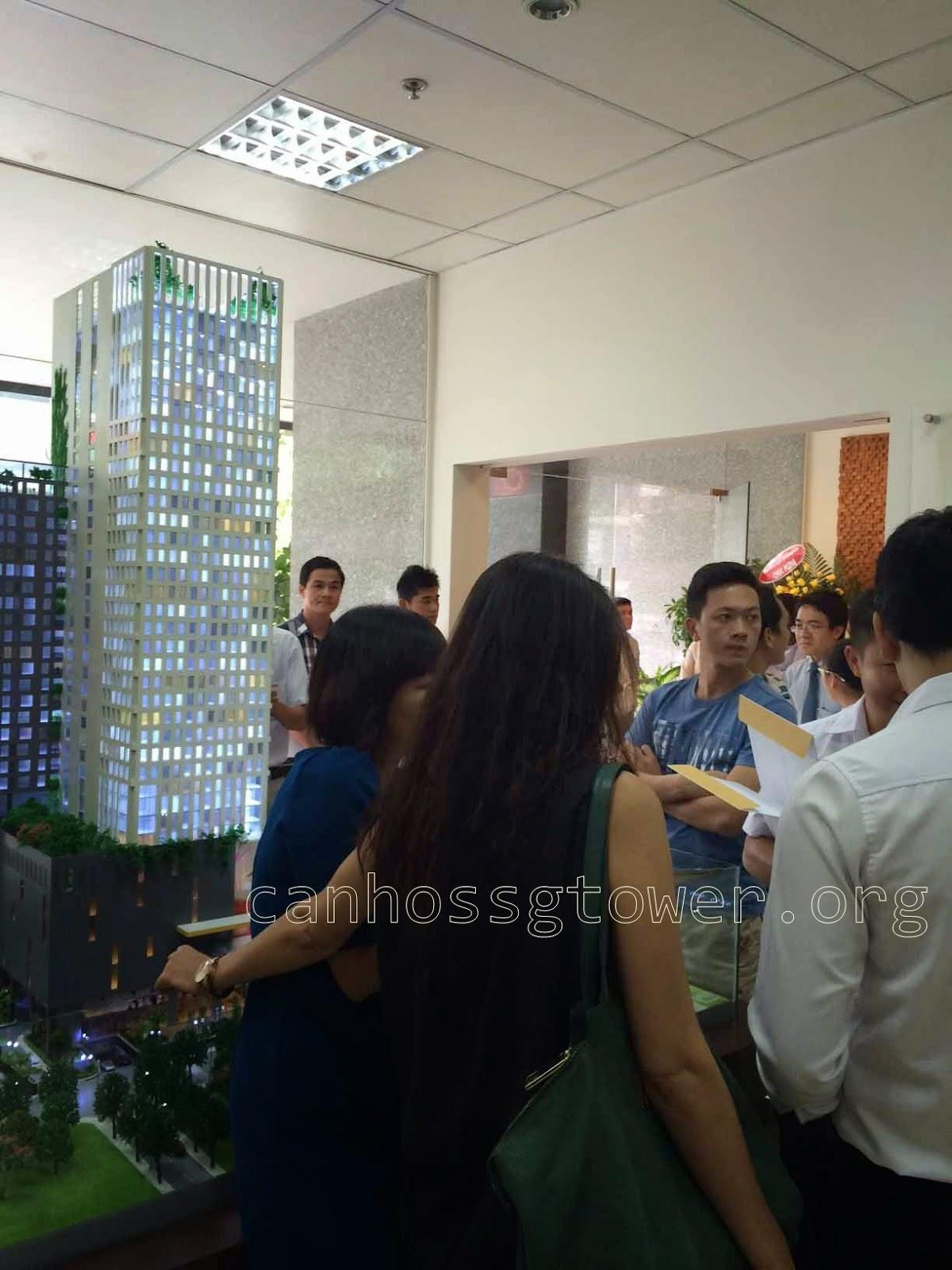 mở bán căn hộ ssg tower