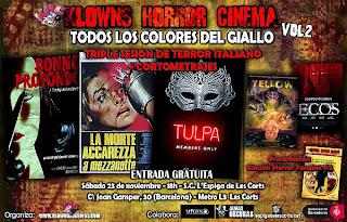 Klowns Horror Cinema presenta: Todos los colores del Giallo