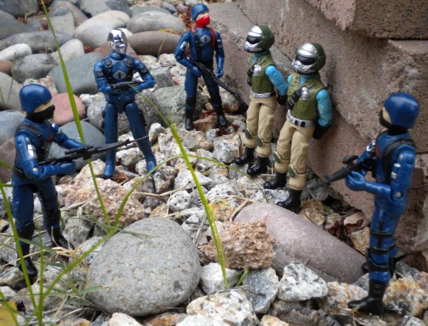 Cobra Mortal, Bootleg, Black Major Custom, Cobra Troopers, Steel Brigade Mail Away