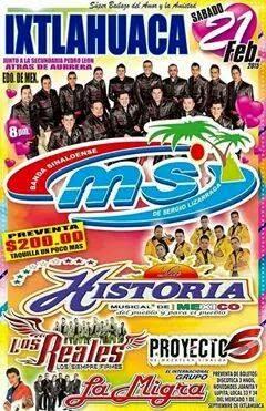 baile banda Ms Ixtlahuaca