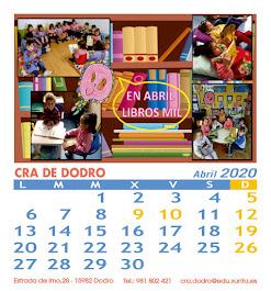 Calendario CRA de Dodro 2020