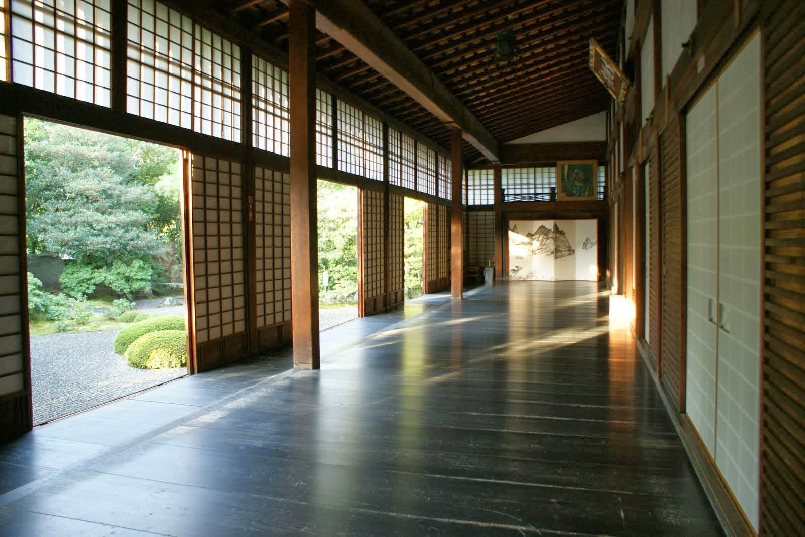 Shunkoin Temple's Prayer Hall