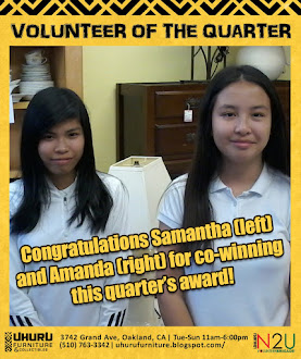 VOLUNTEER OF THE QUARTER, 3rd Quarter 2017