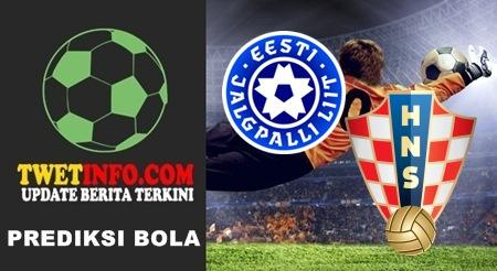 Prediksi Score Estonia U21 vs Croatia U21 07-09-2015